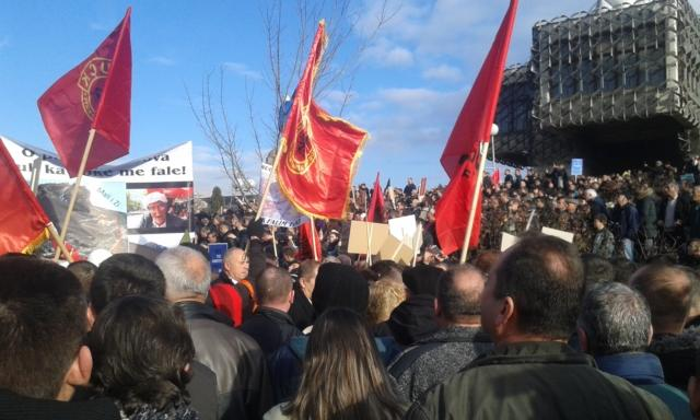 The protest in Pristina on Saturday (Tanjug)