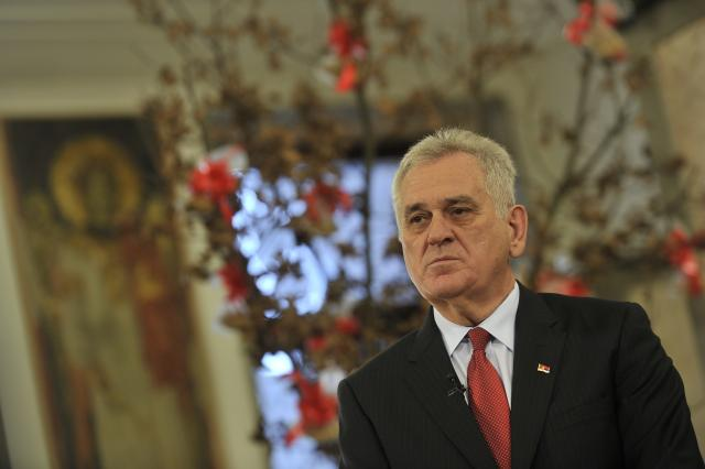 Президент Сербии Николич встретится в Москве с патриархом Кириллом
