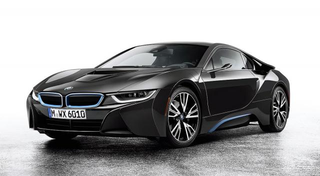 BMW i8 Mirrorless koncept