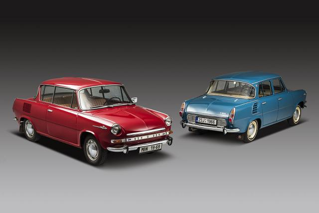 Škoda 1000 MBX Coupe i Škoda 1000 MB sa 4 vrata