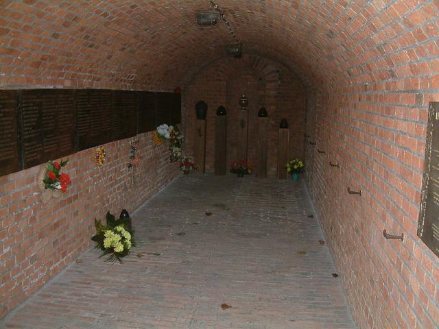 Gasna komora logora Poznanj / foto: wikipedia