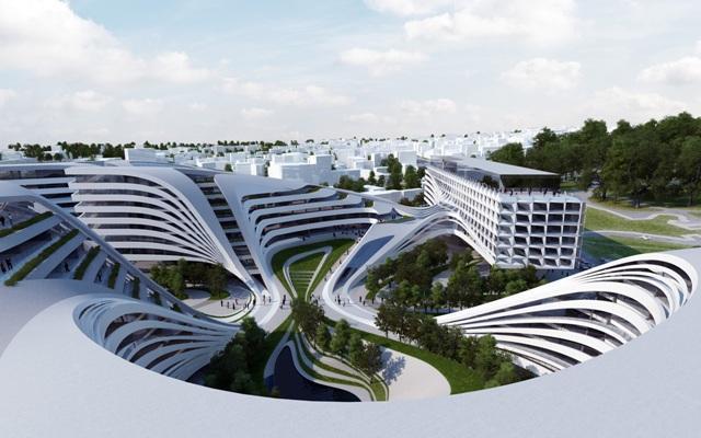 Dizajn zgrade koja je trebalo da se gradi u Beogradu