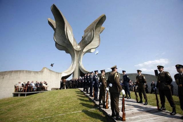 The memorial site in Jasenovac, Croatia (Beta, file)