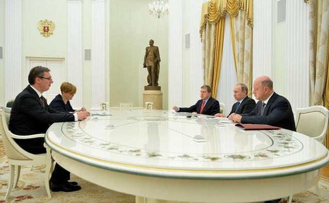 Putin meets with Vucic, mentions composition of new cabinet ...