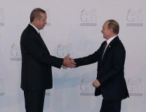 A file photo of Erdogan and Putin (Getty Images)