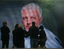 The memorial service for Pavel Sheremet in Kiev (Tanjug/AP, file)