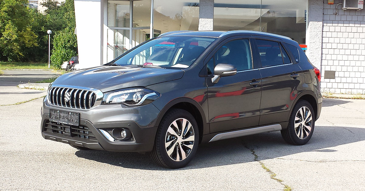 suzuki sx4 s cross za 2017 stigao u srbiju. Black Bedroom Furniture Sets. Home Design Ideas