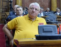 Seselj is seen in the National Assembly (Tanjug, file)