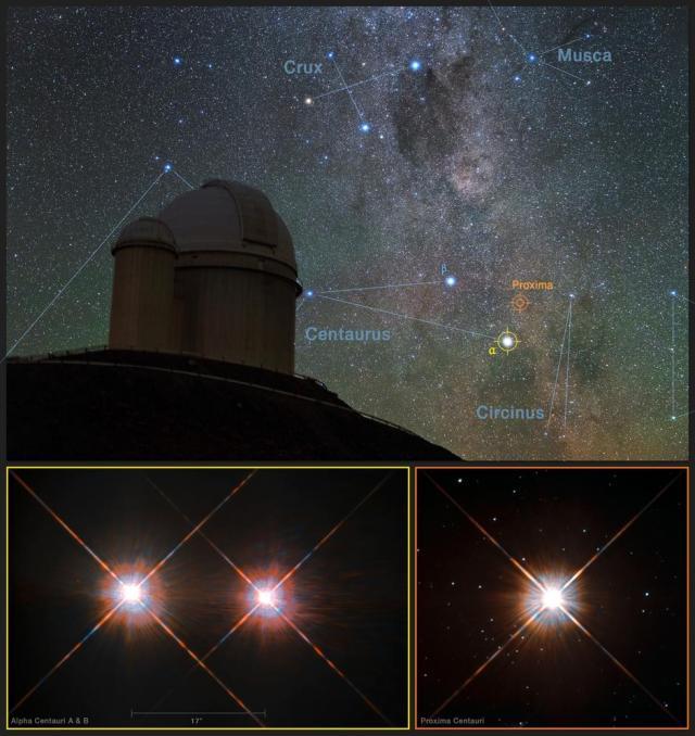 Foto: Y. Beletsky (LCO)/ESO/ESA/NASA/M. Zamani