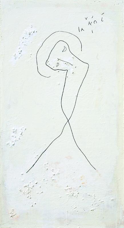 Hristos, 2005, ulje na platnu, 128x70