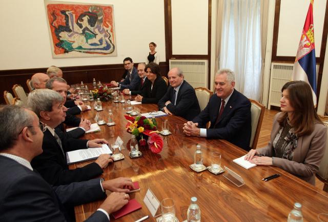 The meeting in Belgrade (Tanjug)