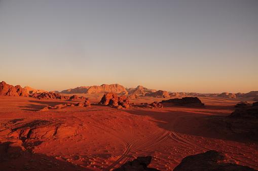 Foto: Thinkstock / Wadi Rum pustinja
