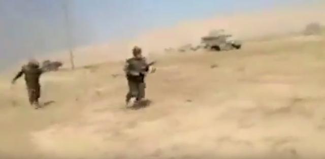 Rat-iz-prve-ruke-Dramaticni-snimak-kurdskog-vojnika-VIDEO
