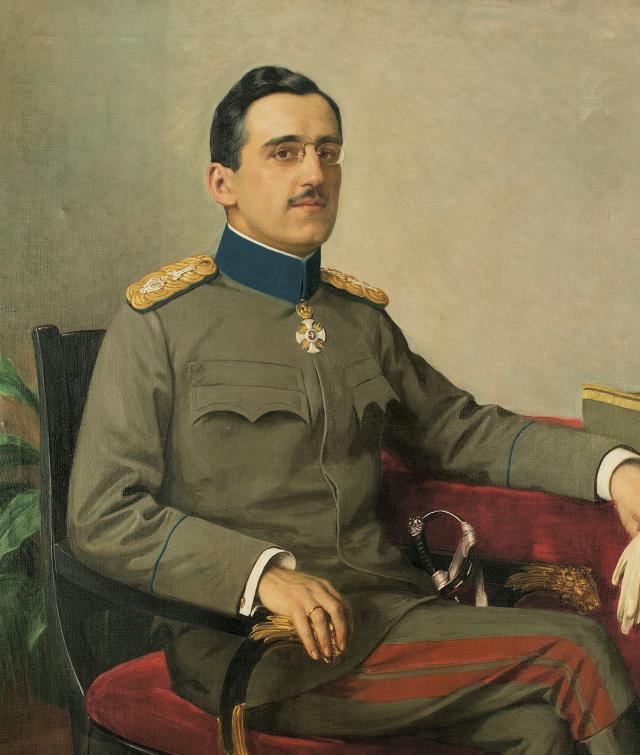 Portret kralja Aleksandra (Foto: Dom Jevrema Grujića)