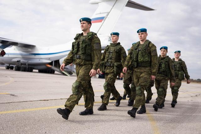 VDV soldiers at Batajnica (Tanjug)