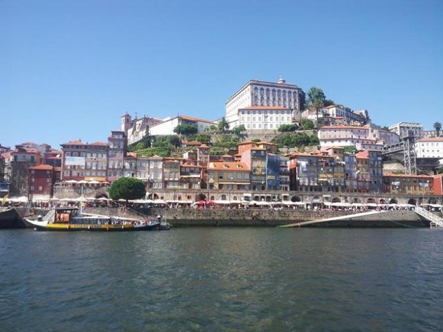 Pogled na severnu stranu reke Douro (Foto: Ljubica Stevanović)