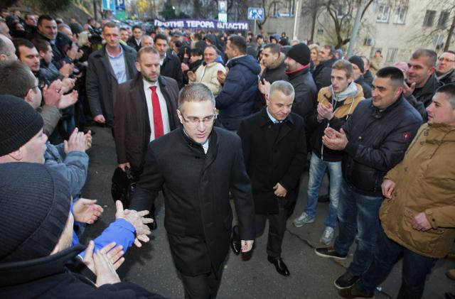 Stefanovic arrives at the court (Tanjug)