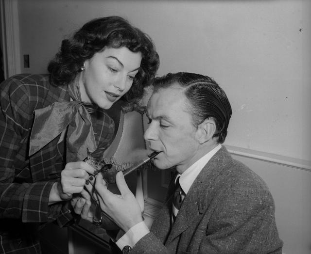 Ava Gardner i Frenk Sinatra (Foto. Gettyimages)
