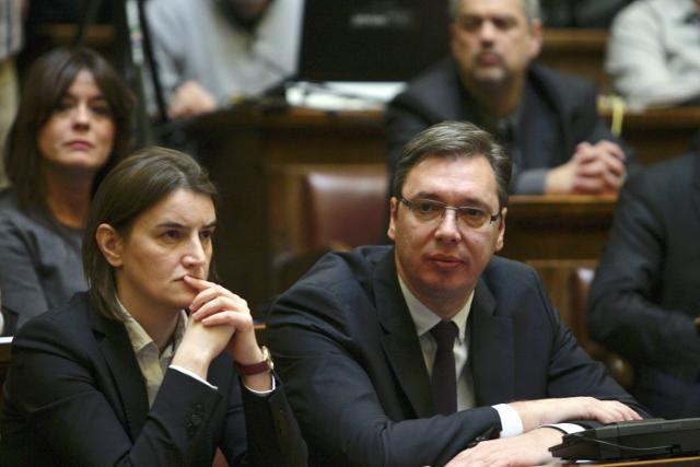 Image result for vučić brnabić