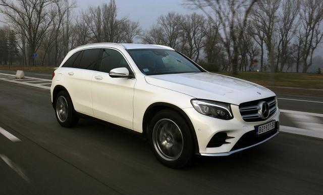 Mercedes GLC 220d: zapremina 2143 ccm; snaga 125 kW (170 KS) pri 3200-4200 o/min; maks. o. mom. 400 Nm pri 1400-2800 o/min
