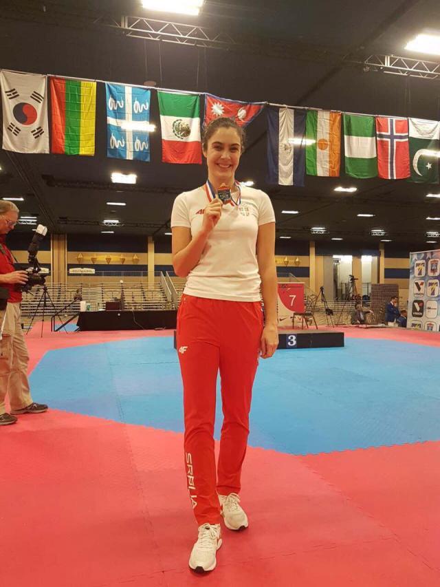 Сербка Милица Мандич выиграла US Open по тхэквондо