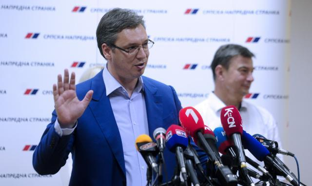 Serbia's Ruling Party Backs PM Vucic In Presidential Election