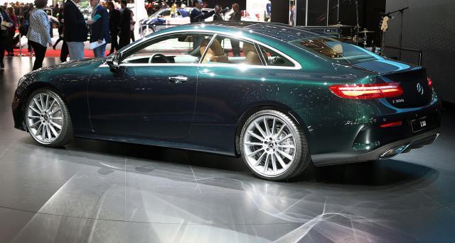 Mercedes E300 Coupe na auto-salonu u Ženevi (newspress.co.uk)