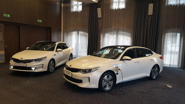 Kia Optima Sportswagon i Plug-in hibrid (Foto: Kia Motors)