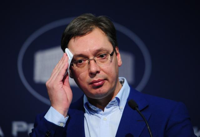 Serbia's powerful PM favored to win presidential election