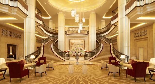 Lobi hotela St Regis Abu Dhabi  (Foto: St Regis Abu Dhabi)