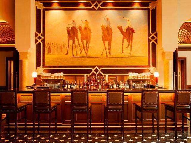 The St. Regis Bar i Cigar Lounge  (Foto: St Regis Abu Dhabi)