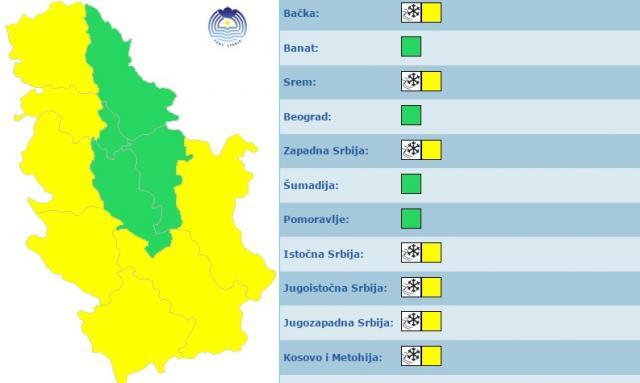 RHMZ-Zuti-alarm-u-vecem-delu-Srbije-reke-ce-rasti