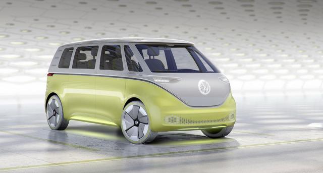 VW ID Buzz električni koncept mini-van vozila