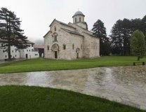One of the medieval Serbian Orthodox monasteries in Kosovo, Visoki Decani (Tanjug, file, illustration purposes)