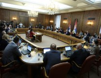 The government meeting on Thursday (Tanjug)