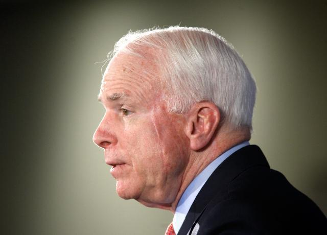 US Sen. John McCain visits Australia for security talks