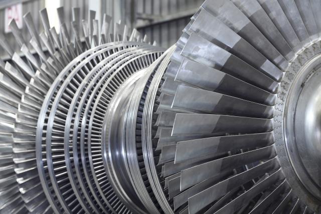 Rotor parne turbine (Thinkstock)