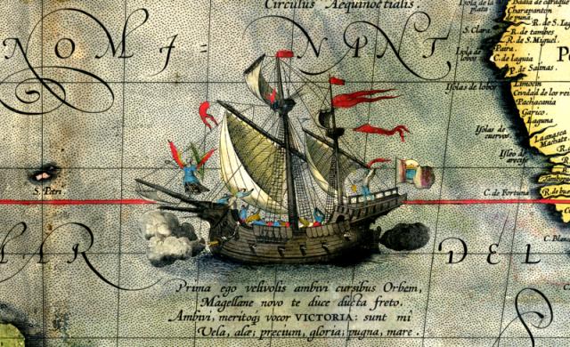 Viktorija, Magelanov brod koji je oplovio svet (Foto: Wikimedia Commons)