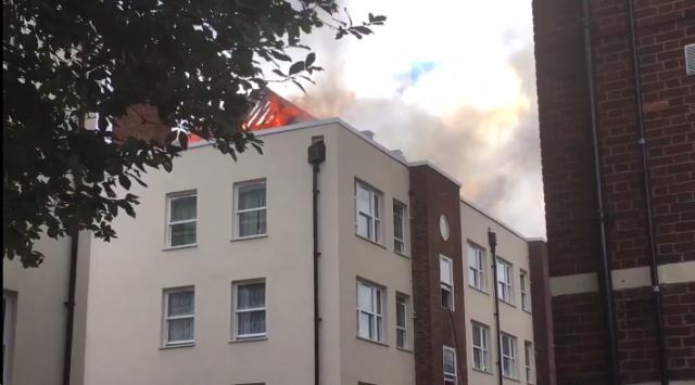 Резултат слика за нови пожар у лондону