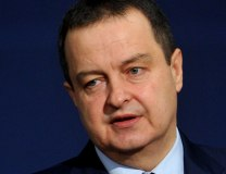 Dacic is seen during the news conference on Tuesday (Tanjug)