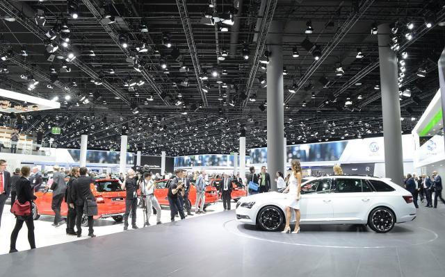 Detalj sa frankfurtskog auto-salona iz 2015. (Foto: Newspress)