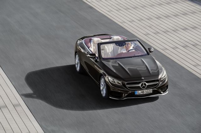 Mercedes S klase Cabriolet za 2018.