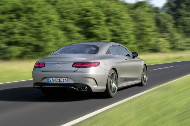 Mercedes S klase Coupe za 2018.