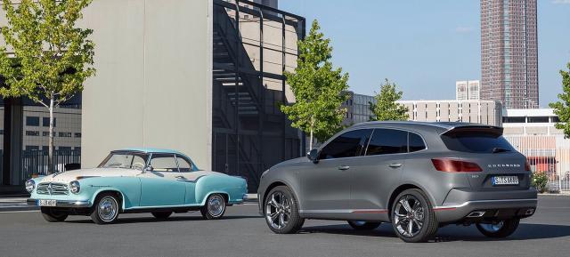 Originalna Isabella i Borgward BX7 TS Concept iz 2015.