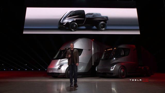 Tesla Pickup Truck (Screenshot YouTube)