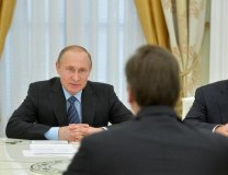 A past meeting between Putin and Vucic in the Kremlin (kremlin.ru, file)