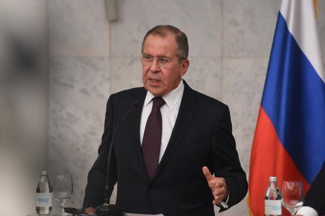 Russia's foreign minister criticizes West's policies in Balkans