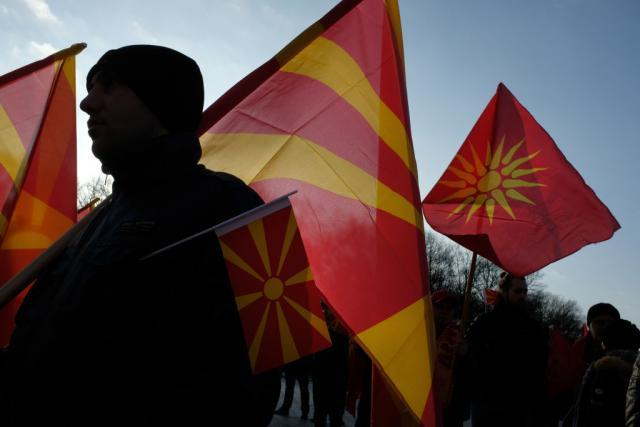Parliament in FYROM adopts the law on language amid a tense situation