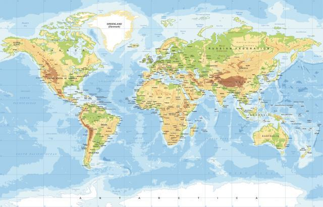 Mapa Sveta Uzivo Superjoden