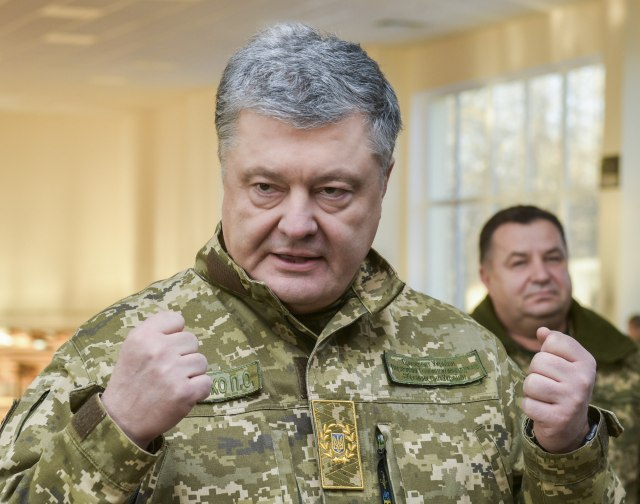 Poroshenko: Martial law is over